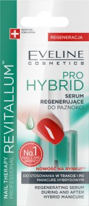 Eveline Nail Therapy Serum regenerujące do paznokci Pro Hybrid Revitalum 12ml
