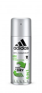 Adidas deo spray 150 men Cool & Dry 6w1
