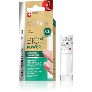 Eveline Nail Therapy Utwardzacz do paznokci BIO Power Naturalny 8ml