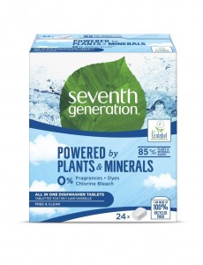 SEVENTH GENERATION naturalne Tabletki do zmywarek Free&Clear 24 szt