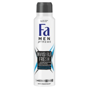 Fa deo spray men 150 Xtreme Invisible Fresh