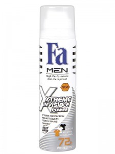 Fa deo spray men 150 Xtreme Invisible Power