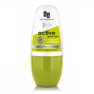 AA deo roll-on women Active Green Tea 50ml